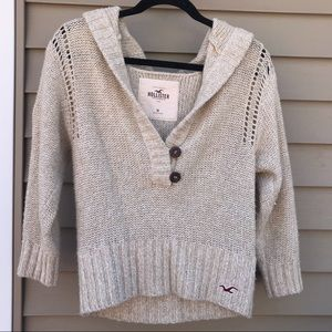 Hooded Sweater - Hollister